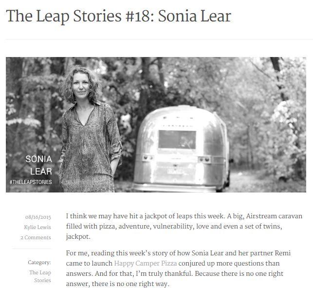 Sonia Leap Capture